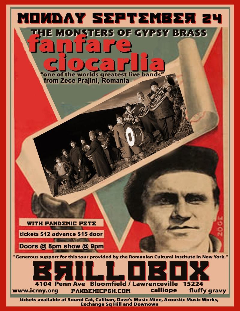 Fanfare Ciocarlia @ Brillobox