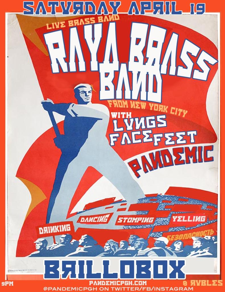 RAYA BRASS BAND BRILLOBOX